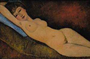 Modigliani_-_Nu_Couché_au_coussin_Bleu
