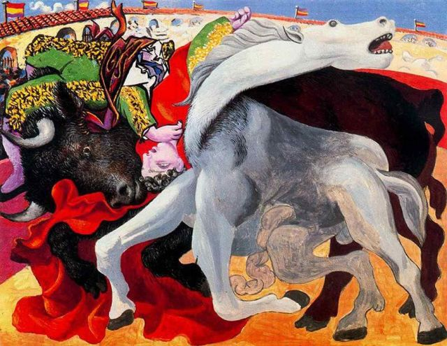 bull-fight-picasso